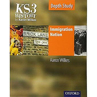 Nazione di immigrazione: Libro dello studente (Folens storia 2 ° edizione)