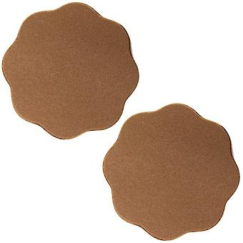 Silicone Nipple Covers Brown 1 Pair