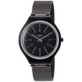 Swatch damer kvarts analog klocka med rostfria band SVOB100M
