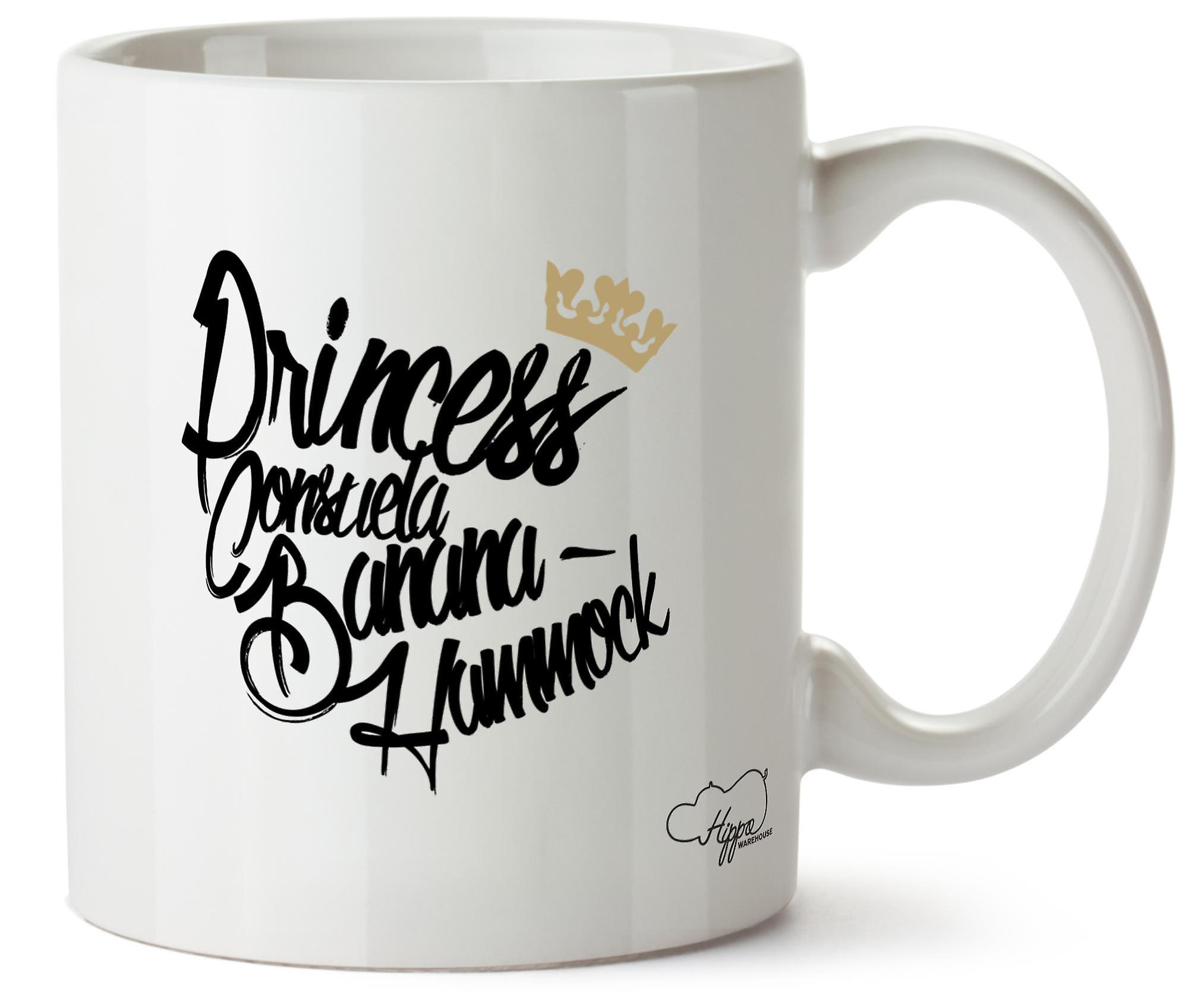 Hippowarehouse Princess Consuela Banana Hammock 10oz Mug Cup