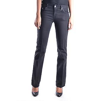 Red Valentino Ezbc026006 Women's Black Cotton Jeans