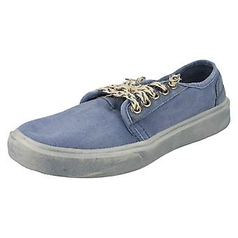 Mens Hey Dude Casual Shoes Buster Washed