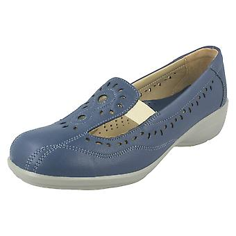 Ladies Easy B Comfortable Slip On Shoes Sunray