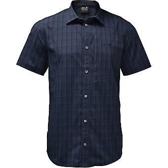 جاك وولفسكين الرجال أشعة تمتد تنفيس خفيفة الوزن الأشعة فوق البنفسجية قميص واقية
