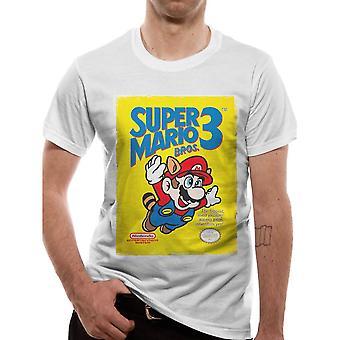 Men's Super Mario Bros. 3 White T-Shirt