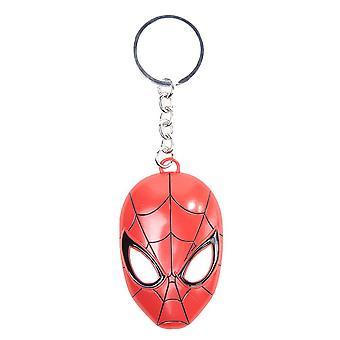 Spider-Man masque porte-clés en métal