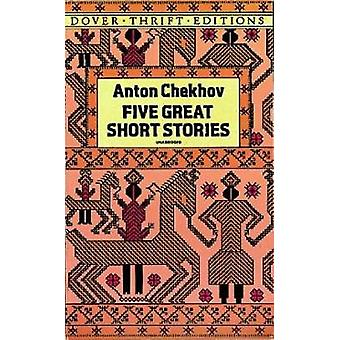 Five Great Short Stories by Anton Chekhov - 9780486264639 Book