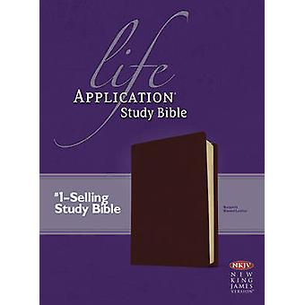Life Application Study Bible - New King James Version - Burgundy Bonde