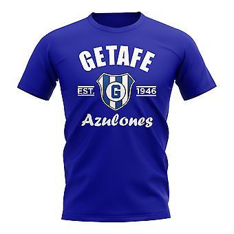 Getafe perustettiin jalka pallo T-paita (Royal)