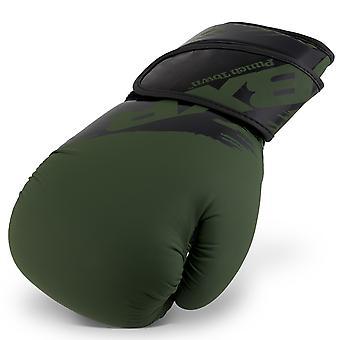 PunchTown BXR KR Boxing Glove Olive/Black