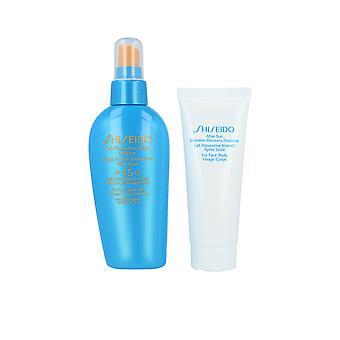 Shiseido Sun Protection Spray Oil Free Spf15 Set 2 Pz Pour les femmes