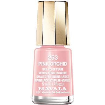 Mavala mini kleur parel effect nagellak-Pink Orchid (253) 5ml