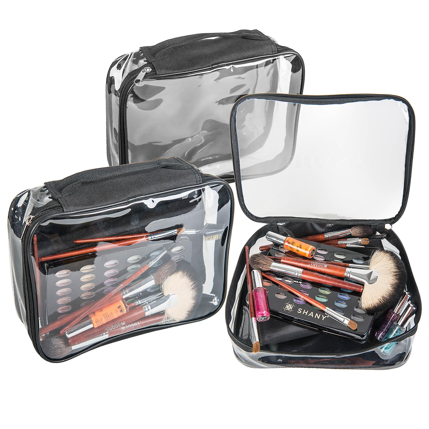 It's Show Time Travel Bag - Clear Waterproof Travel Storage for Home/Travel Use