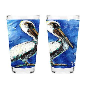 Carolines Treasures MW1178PINT Pelican 16 unssia sekoitus lasia