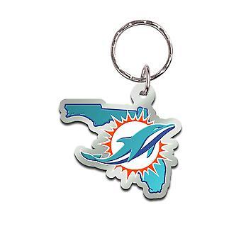 Wincraft STATE Schlüsselanhänger - NFL Miami Dolphins