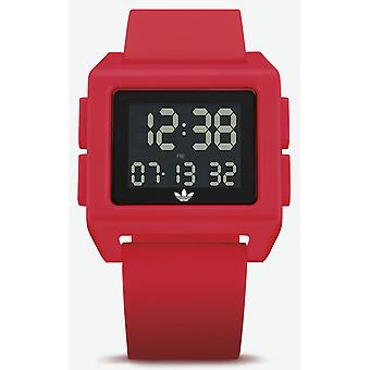 Adidas archive_sp1 Digital Men's Watch with Z15203-00 Silicone Bracelet