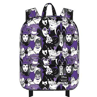 Backpack - Disney - Villans Purple Evil Character New wdbk0676