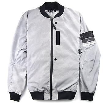 Stone Island Shadow Project Lenticular Jacquard Jacket Silver/Black