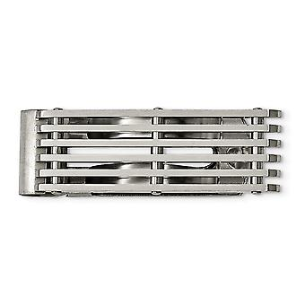 Stainless Steel Brushed Money Clip Jewelry Gifts for Men
