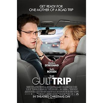 ملصق رحلة الذنب مزدوجة من جانب العادية (2012) ملصق السينما الأصلي