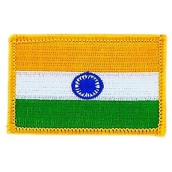 Patch patch Brode bandeira Índia Indian Thermocollant patche Badge Blason