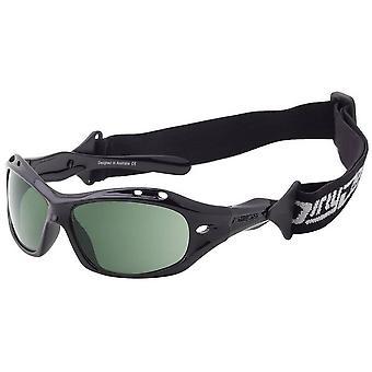 Schmutziger Hund Wetglass Curl Sonnenbrille - schwarz/grün