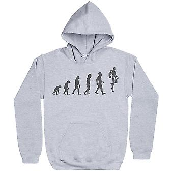 Evolution To Iron Man - Hoodie Homme