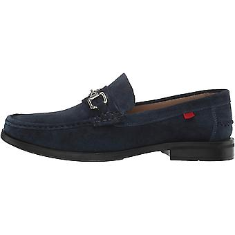 Marc Joseph New York Mens Astoria Leather Round Toe Penny Loafer