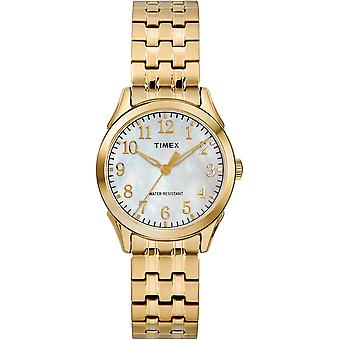 Timex Briarwood Gold-Tone Expansion Ladies Watch TW2R48500