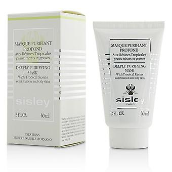 Sisley Deeply Purifying Mask With Tropical Resins (combination And Oily Skin) - 60ml/2oz