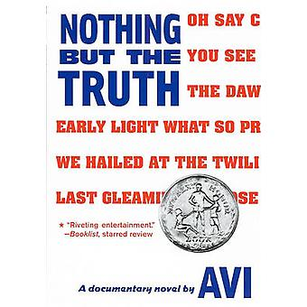 Nothing But the Truth - A Documentary Novel by Avi - 9780606123006 Book