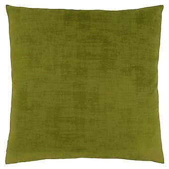 """18"""" x 18"""" Lime Green, Brushed Velvet - Pillow"""