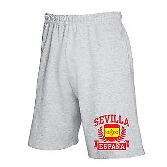Grey tracksuit shorts dec0440 sevilla expands