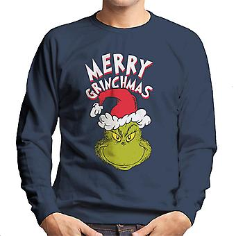 The Grinch Merry Grinchmas Men's Sweatshirt