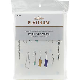 Spellbinders platina magnetiske plattform-Standard