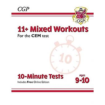 New 11 CEM 10Minute Tests Mixed Workouts  Ages 910 wit