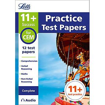 11 Practice Test Papers for the CEM tests Complete inc. A