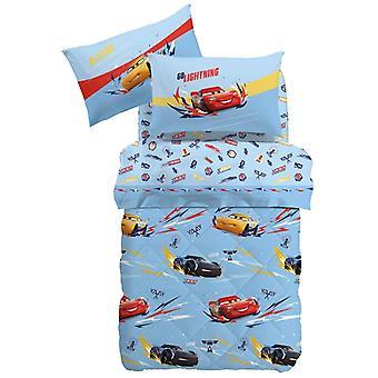 Disney Cars sebesség téli Quilt Single Caleffi ágy