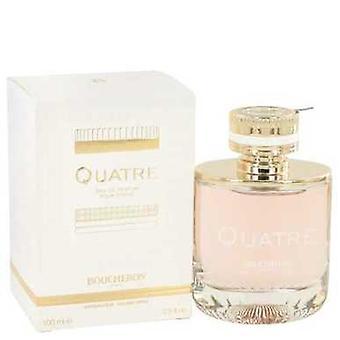 Quatre By Boucheron Eau De Parfum Spray 3.3 Oz (women) V728-518669