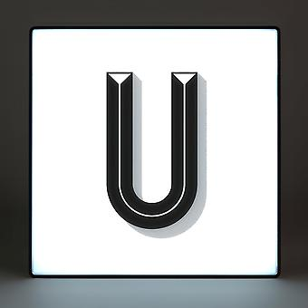 U Alphabet Lightbox