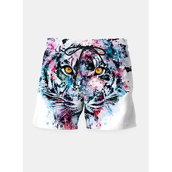 Tiger blue shorts