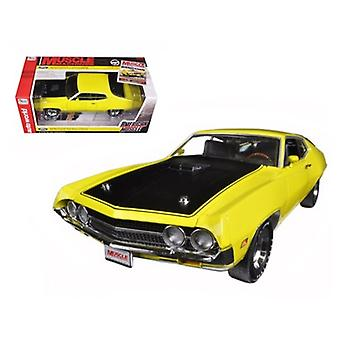 1970 Ford Torino Cobra 429 CJ Hemmings Hellgelb Limited Edition 1254pc 1/18 Diecast Auto Modell von Autoworld