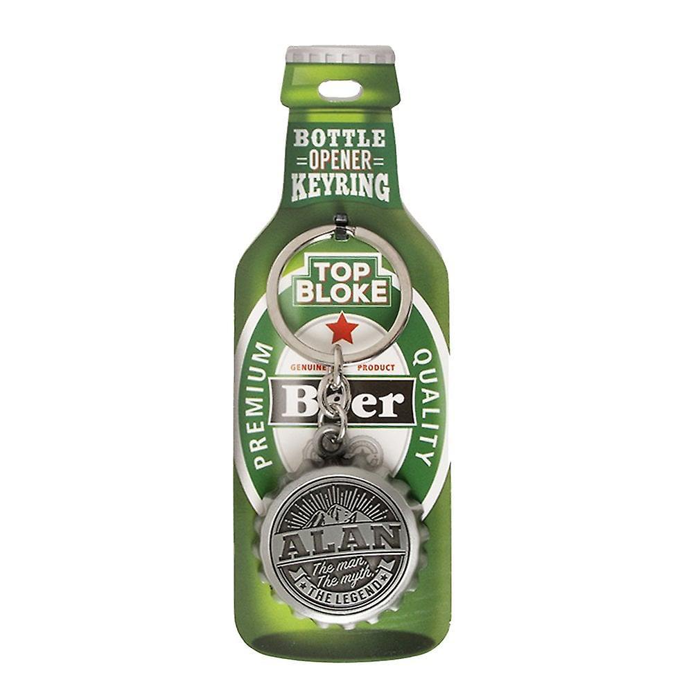 History & Heraldry Keyring - Alan Bottle Opener