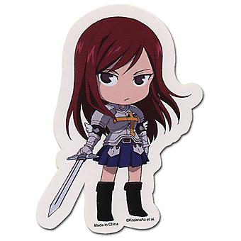 Sticker - Fairy Tail - New SD Erza Toys Gifts Anime Licensed ge55114