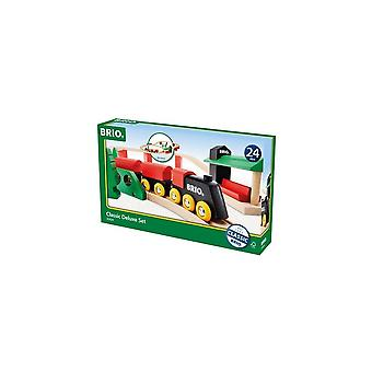 Brio 33424 Brio Classic Deluxe Train Set  Wooden Railway