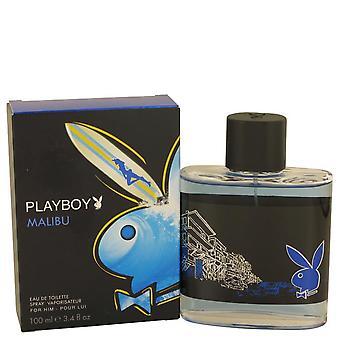 Malibu playboy eau de toilette spray by playboy 460644 100 ml