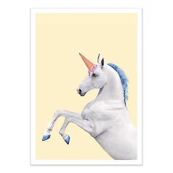 Art-Poster - Unicorne - Paul Fuentes