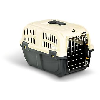 Arquivet Pet Cage, Skudo - 1, Metallic (Dogs , Transport & Travel , Transport Carriers)