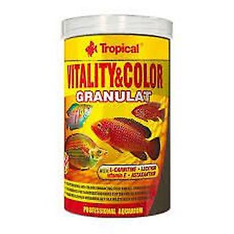 Tropical Vitaliteit En Kleur In Korrelvorm 250 Ml (Vissen , Visvoer , Warm water)