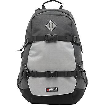 Element Skateboard Backpack ~ Jaywalker black heather